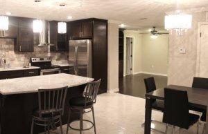 Kitchen at richardson sober living
