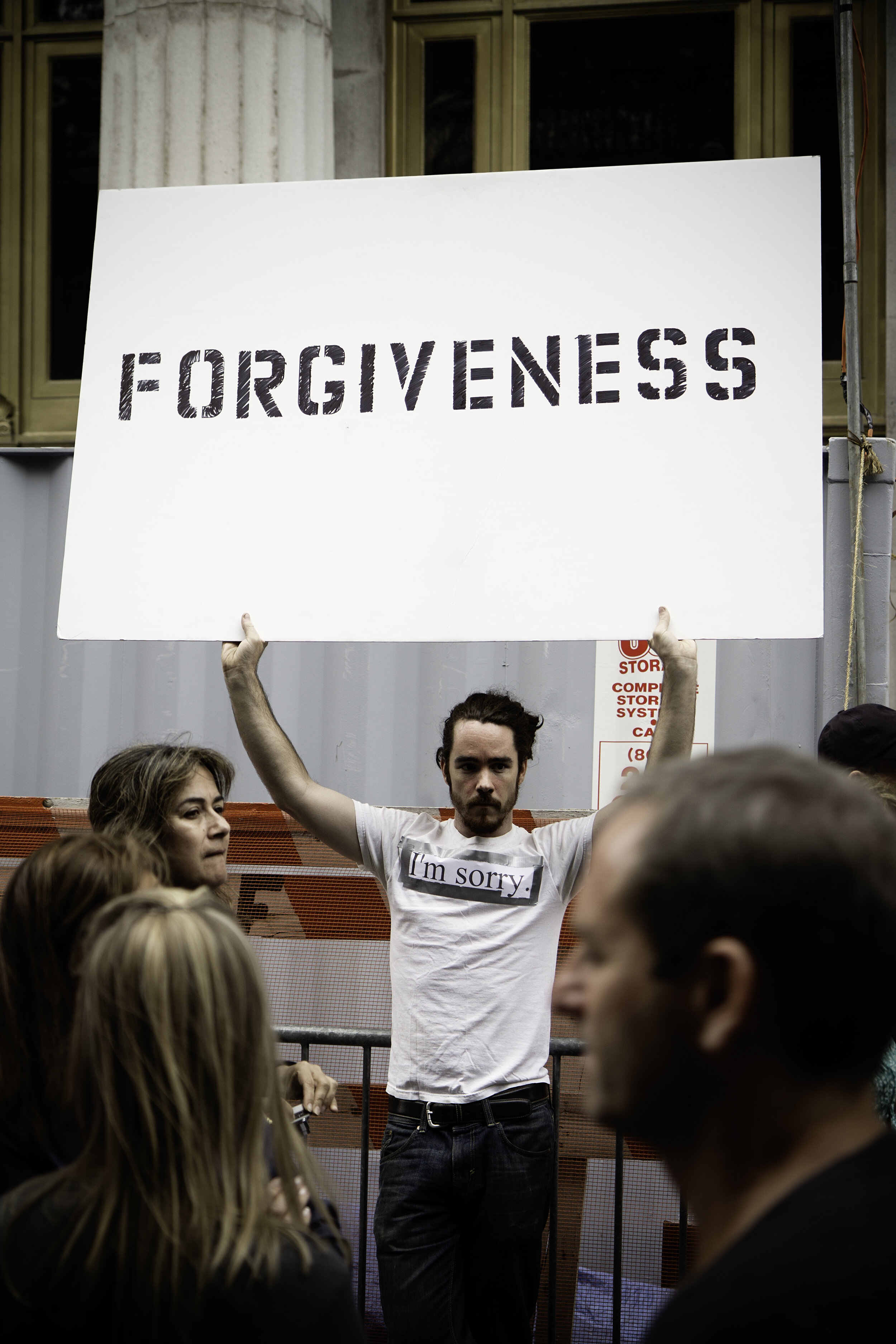 Forgiveness is huge in recovery