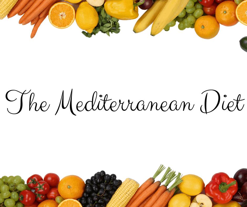 Mediterranean Diet Graphic