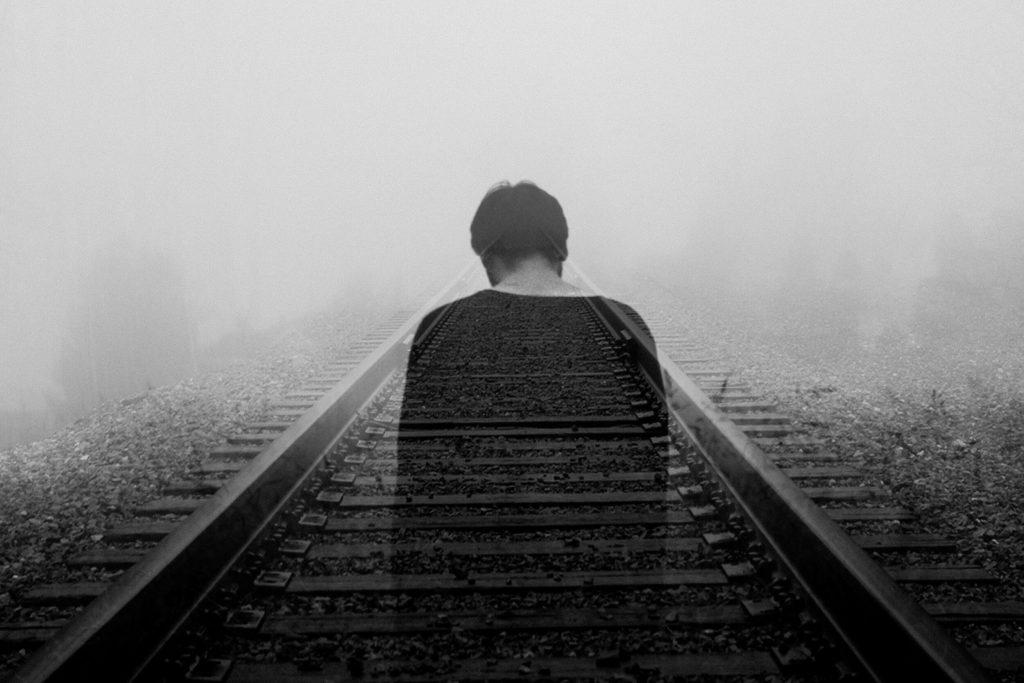 A truly sad photo describing depression well