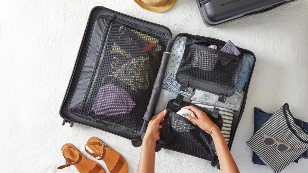 Traveling requires packing